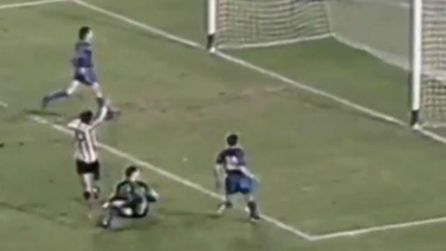 El gol que marcó Setién como jugador al Barça... en el Camp Nou
