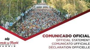 No habrá maratón en Madrid en este 2020