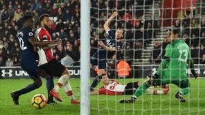 Harry Kane tuvo el gol de la victoria en la última ocasión del partido