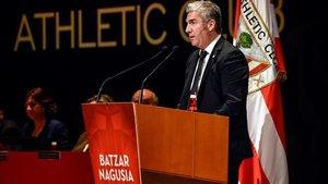 Josu Urrutia, presidente del Ahletic Club