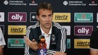Julen Lopetegui no hará la rueda de prensa previa al Trofeo Bernabéu
