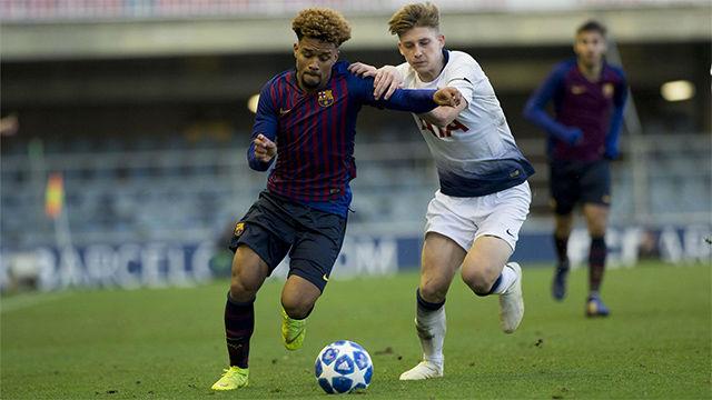 El Juvenil del Tottenham gana al del Barça