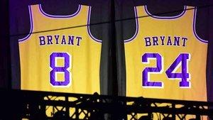 Las camisetas de Kobe Bryant