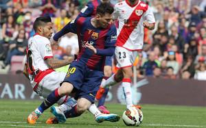 Leo Messi no tiene ni quiere descanso