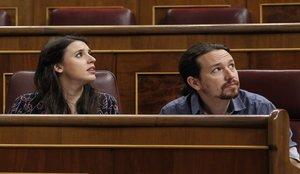 Los hijos de Pablo Iglesias e Irene Montero, ingresados por una bronquiolitis