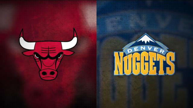 Los Nuggets pasaron por encima de los Bulls