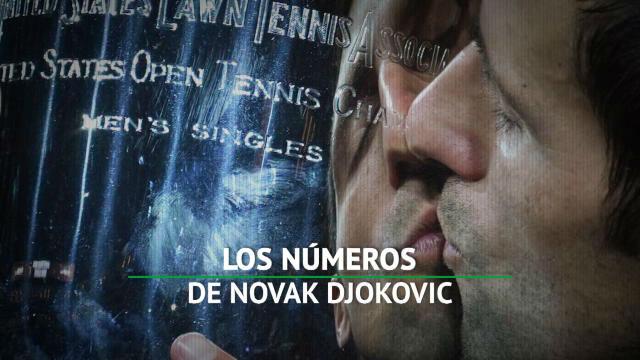Los números de Djokovic en 2018