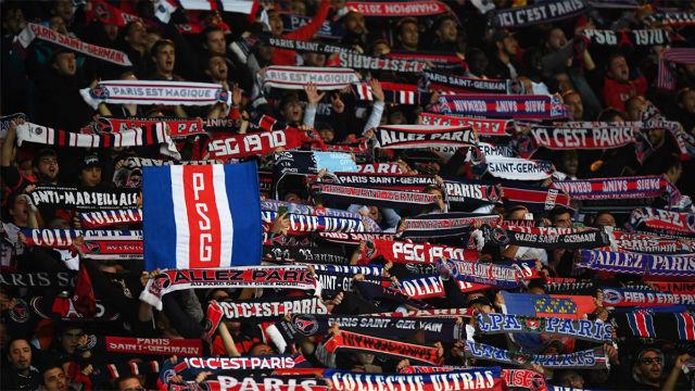 Los primeros incidentes del PSG - Real Madrid