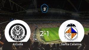 Los tres puntos se quedan en casa: Alcudia 2-1 Santa Catalina Atlético