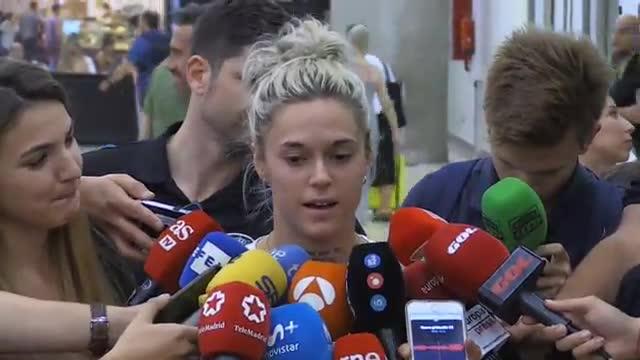 Mapi León: Hubo contacto en el segundo penalti, pero fue poco