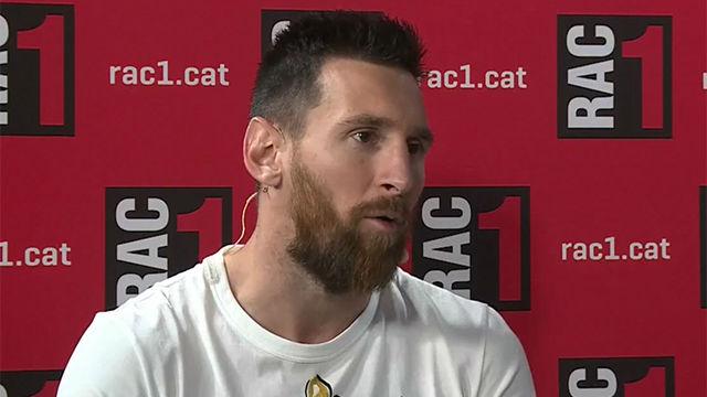 Messi: Siempre tuvimos un proyecto ganador y si no ganamos Champions fue culpa nuestra