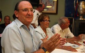 Miguel Ángel Bustillo en una de sus últimas apariciones públicas