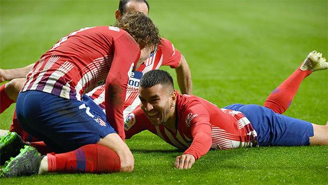 El misil de Correa que dio la victoria al Atlético
