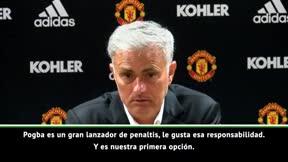 Mourinho: Pogba entrenó mucho los penaltis durante el Mundial