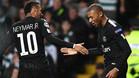 Neymar y Mbappé vieron portería ante el Celtic