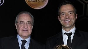 El presidente madridista y el agente se verán las caras