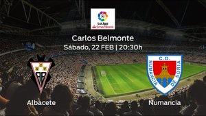 Previa del encuentro de la jornada 29: Albacete contra Numancia