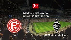 Previa del partido: Fortuna Düsseldorf - Borussia Mönchengladbach