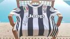 La primera camiseta de la Juventus firmada por Cristiano Ronaldo