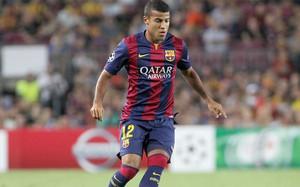 Rafinha volvió a ser titular con el FC Barcelona