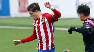 Rodrigo Riquelme ha convencido a Simeone
