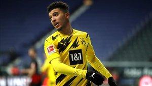 Sancho ha sido el mejor en el empate 1-1 ante el Eintracht