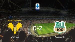 El Sassuolo suma tres puntos a su casillero frente al Hellas Verona (0-2)