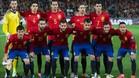 La selección jugará ante Alemania con brazeletes negros