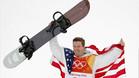 Shaun White celebra su tercer oro olímpico