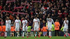 El Spartak se despidió de la Champions con una derrota por 7-0 contra el Liverpool