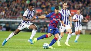 Suárez sigue siendo el referente en ataque del Barça