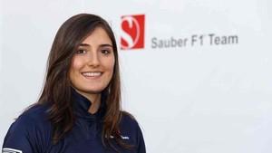 Tatiana Calderón, piloto colombiana de Sauber
