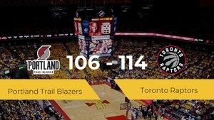 Toronto Raptors derrota a Portland Trail Blazers (106-114)