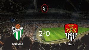 Tres puntos para el equipo local: Guijuelo 2-0 Haro Deportivo