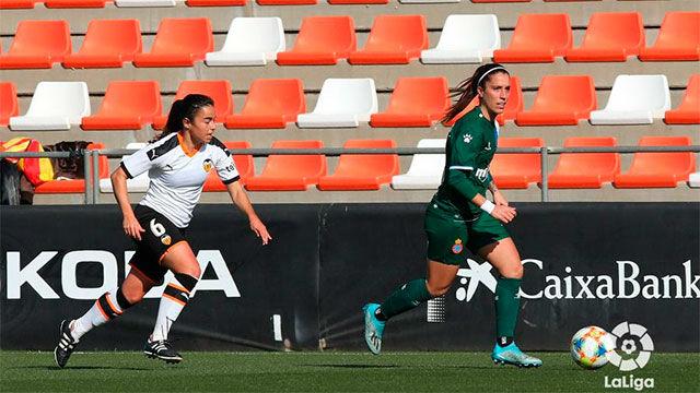 El Valencia Femenino y el Espanyol Femenino solo suman un punto