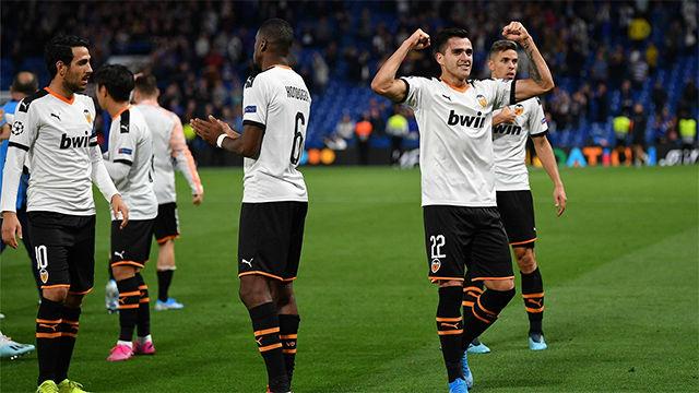 El Valencia rompe su silencio en Stamford Bridge