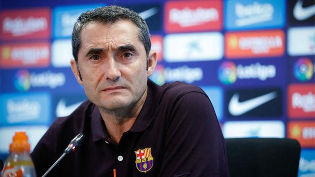 Valverde: No sé cuándo volverá Messi
