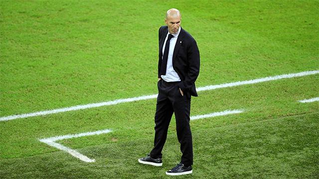 Zidane: Estoy contento por la actuación de todos. Es difícil alinear