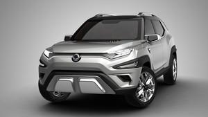 El XAVL Concept, es la apuesta de Ssangyong para el segmento SUV.
