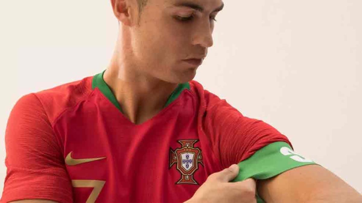 f23b5cd1042c0 Cristiano Ronaldo presenta la camiseta de Portugal para el Mundial