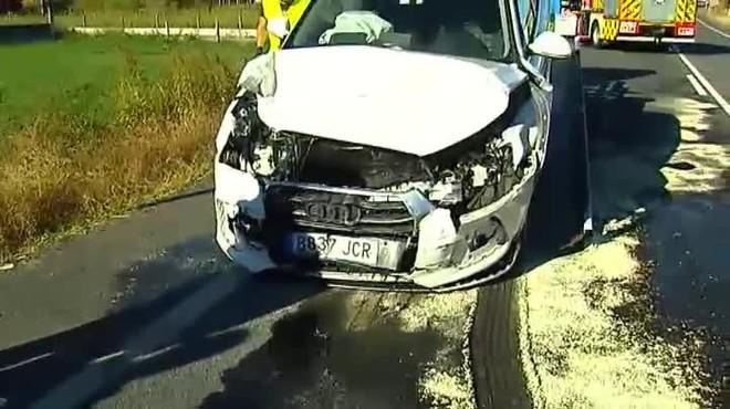 Fallece una niña de 3 años, en Pontevedra, que se golpeó con una tablet al tener un accidente el coche de sus padres