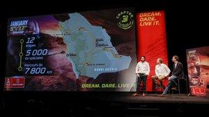 Presentación del primer Dakar en territorio saudí