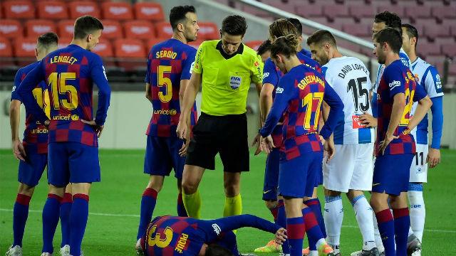 El 1x1 del Barça ante el Espanyol