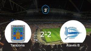El Alavés B consigue el ascenso a Segunda División B gracias al resultado de la vuelta (2-2)