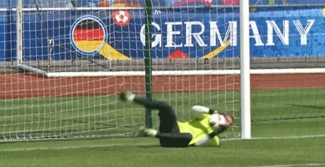 Alemania se prepara para el partido de cuartos contra Italia