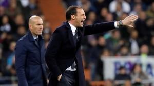 Allegri rechazó una oferta de Florentino Pérez