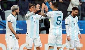 Argentina fue tercera en la Copa América