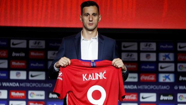 Arias y Kalinic, presentados como jugadores del Aatlético de Madrid
