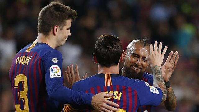 Así narró la radio el gol de Messi ante el Girona