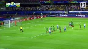 Así ha sido la exhibición de Coutinho con Brasil: Doblete y MVP